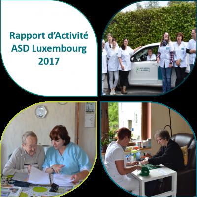 Rapport d'Activité ASD Luxembourg 2017